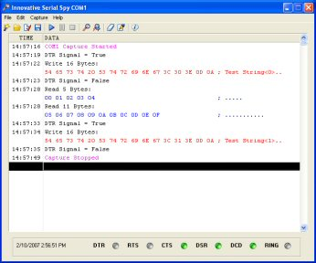 serial monitor program screen shot